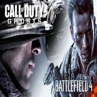 Battlefield 4 + Call of Duty Ghosts CLASH OF THE TITANS Bundle en Pré-Commande