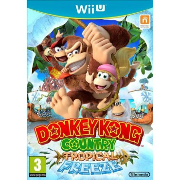 Donkey Kong Country: Tropical Freeze - Wii U Download Code