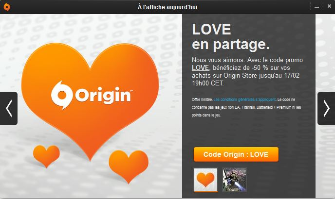 origin saint valentin