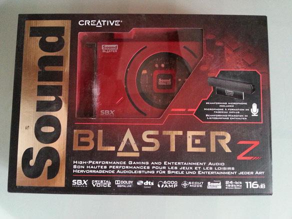 boite sound blaster Z